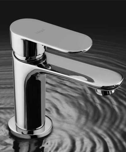 Grey Olive Single Lever Basin Mixer Project With 450 Mm