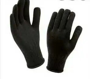 Black Latex Hand Gloves