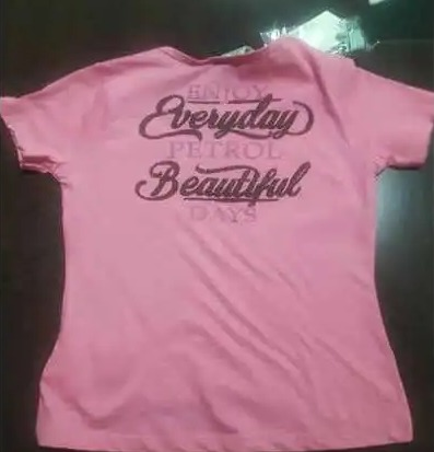 Ladies Round Neck T-shirts For Casual And Party Wear