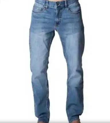 Plain Pattern Mens Denim Jeans
