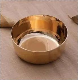 Polished Bronze Serving Bowl