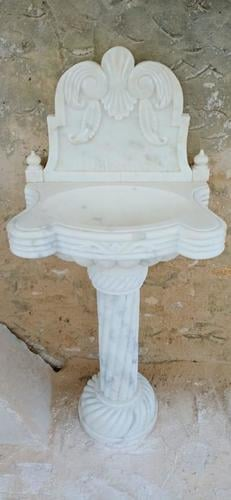 Handcrafted Marble Wash Basin