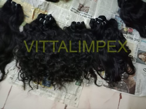 Unprocessed Raw Indian Temple Hairs