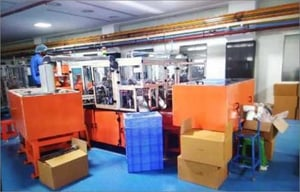 Electric Assembly Line Machine