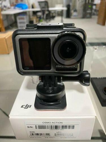 Black Dji Osmo Action Digital Camera