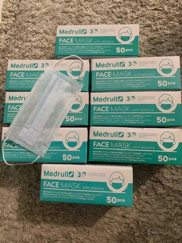 medrull surgical face mask