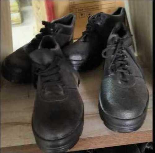 Black Color Safety Shoes
