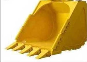 Yellow Color JCB Earth Mover Bucket