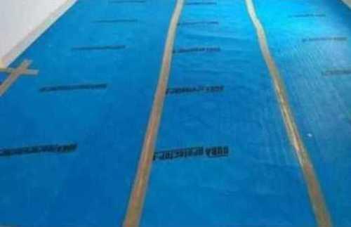 Blue Color Floor Guard