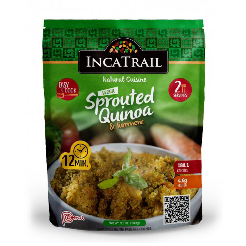 Natural Cuisine Sprouted Quinoa And Turmeric