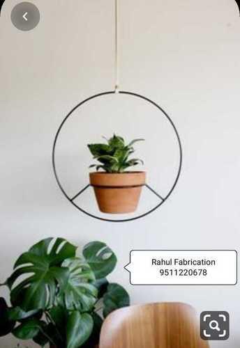 Round Nursery Metal Flower Pot Stand