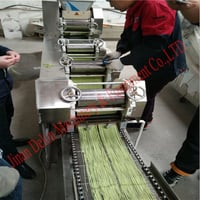 Small Scale Automatic Instant Noodle Making Machine
