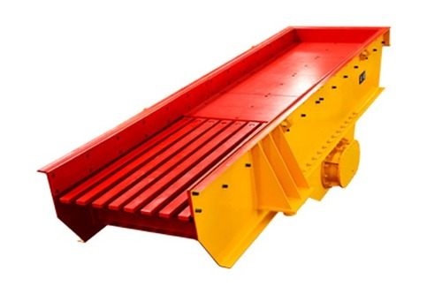 Red and Yellow Color Vibrating Screen