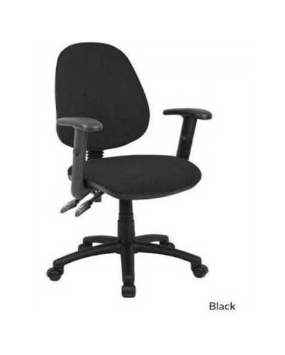Adjustable Rotatable Black Office Chair