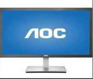 Black Acer Computer Monitor