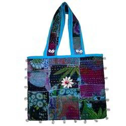 Handmade Kantha Work Ladies Bags