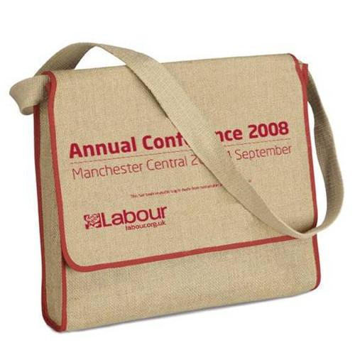 Rectangular Jute Conference Bag