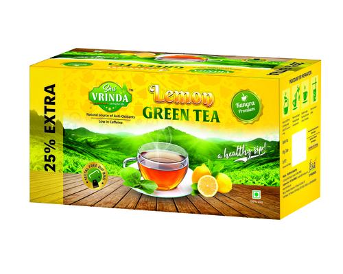 (Shri Vrinda) Lemon Green Tea Health Tea