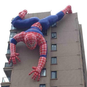 Inflatable Huge Size Spiderman