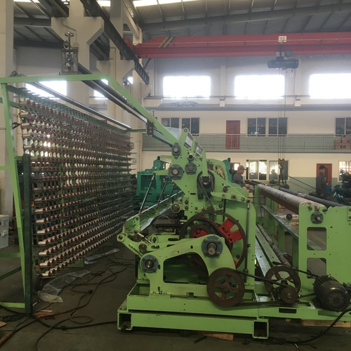 CAD Model Fishing Net Making Machine