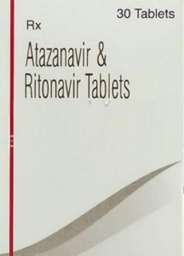 Atazanavir-300 and Ritonavir-100 Tablet