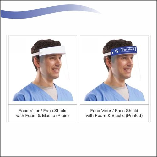 Fast And Easy To Wear Face Shield
