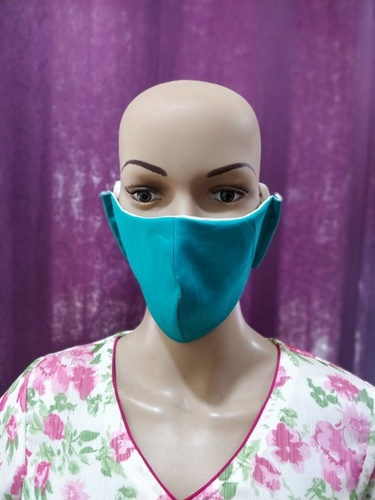 C-Type Double Fabric Cotton Face Mask Application: Infection Prevention