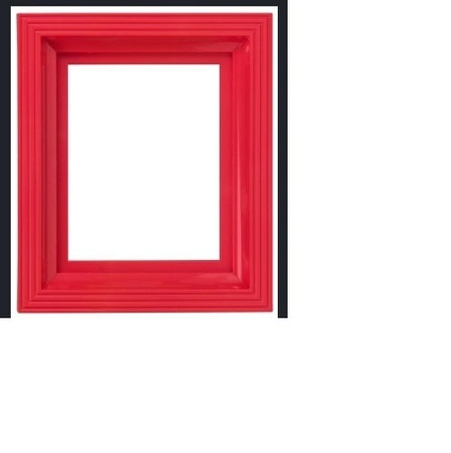 Coated Decorative Red Picture Frames