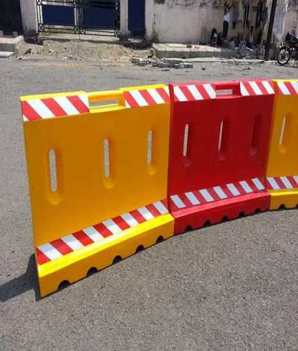 Plastic Road Barrier For Roadway Safety