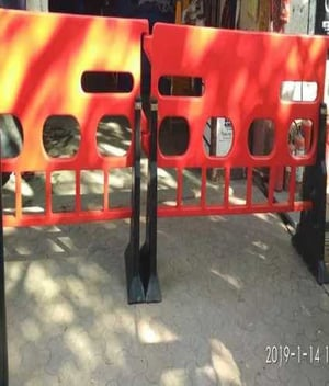 Plastic Road Safety Barrier