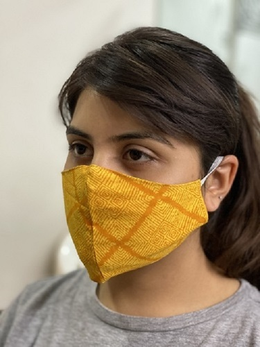 Reusable Colored Face Masks Application: Medical and domestic