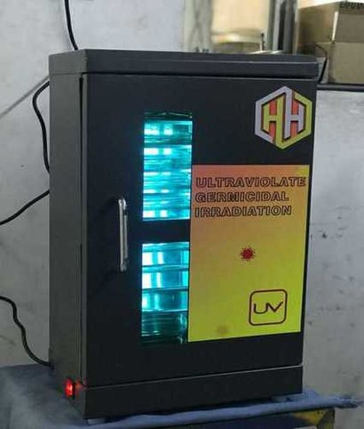 User Friendly Uv Sanitization Box Application: For Sterilization Of Small Object'S And Tools