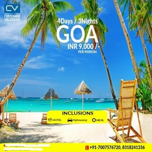 4 Days And 3 Nights Goa Package Services