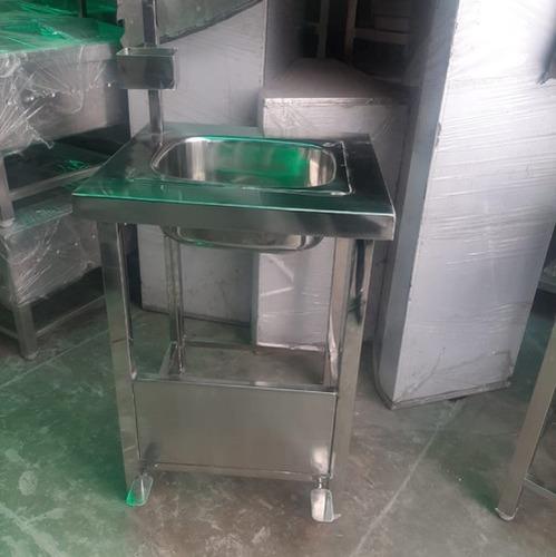 Rectangular Stainless Steel Sink Unit