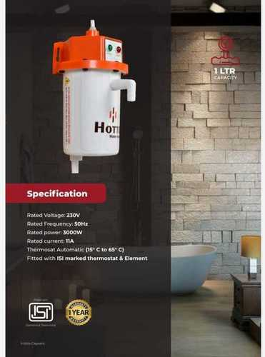 Electric Instant Water Geyser