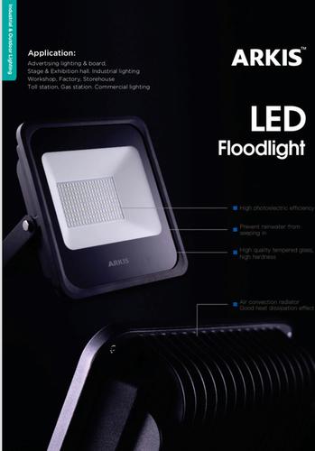 Black Color LED Flood Light