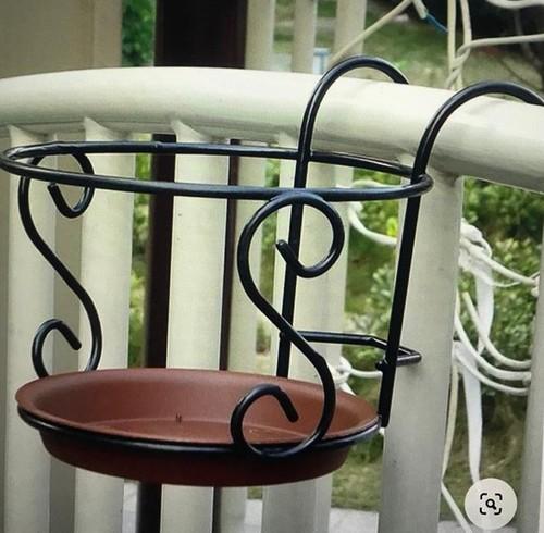 Designer Metal Planter Stand