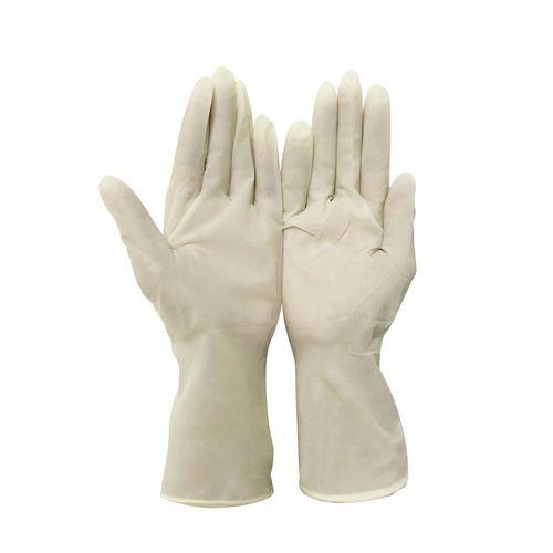 White Color Latex Gloves