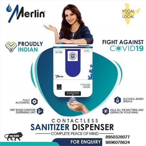 Contact Less Hand Sanitizer Dispenser
