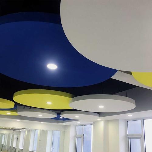 Custom Fiberglass Acoustic Ceiling