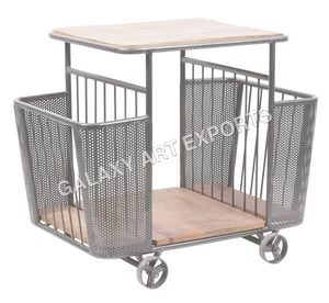 Rugged Construction Kitchen Trolley