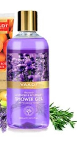 Hygienically Packed Herbal Shower Gel