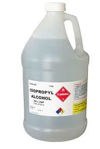 Isopropyl Alcohol Application: Industrial
