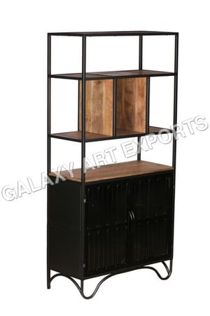 Wooden Big Cabinet with Shelves