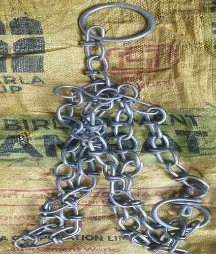 Knotted Iron Cow Chain Teeth Number: C C 001