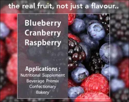 Fresh Nutritional Berry Powders Shelf Life: 12 Months