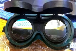 Comfort to Wear Industrial Safety Goggles