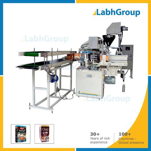 Plastic And Glass Bottles Folding Carton Box Packing Machine