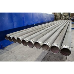 Pusher Tubes for refractory metal powder reduction