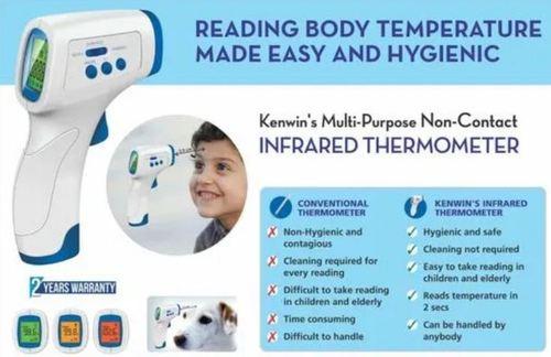 Kenwin Multipurpose Non Contact Infrared Thermometer Gun
